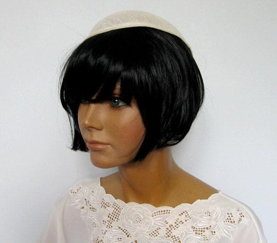 Vintage Hat Form 1950s Buckram Hat Millinery