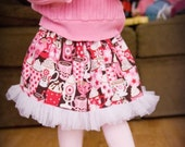 Valentine Collection.....Custom listing for My4Peas......3 Valentine skirts