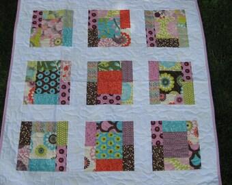 Baby Quilt-Sugar Pop by Liz Scott for MODA