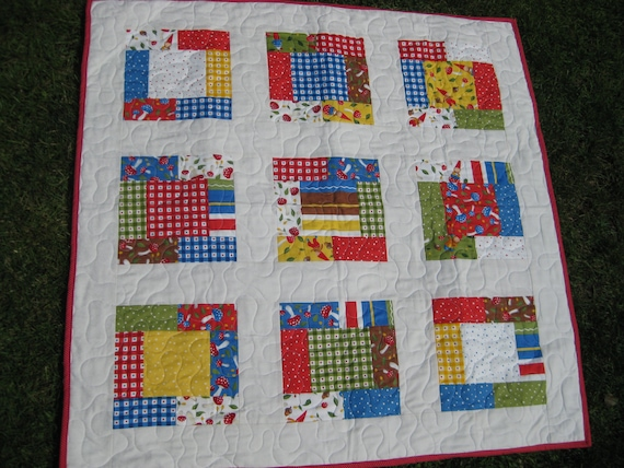 Baby Quilt- Wee Folks by Ingrid Slyder for MODA