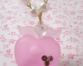 Frosted Apple Pendant
