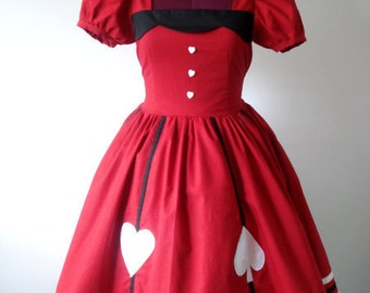 Alice In the Red Lolita Dolly Dress