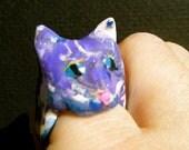 Blues Cat Ring