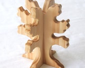 Carved Wooden Tree, Handmade, Waldorf Inspired