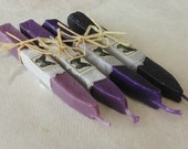 Natural Sealing Wax for stamp 4 sticks Shades of PURPLE