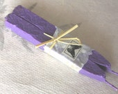 Natural Sealing wax VIOLET purple color 2 sticks seal wax for stamps