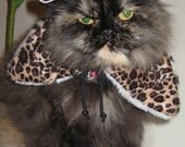 Jungle Jane pet hat and fur collar