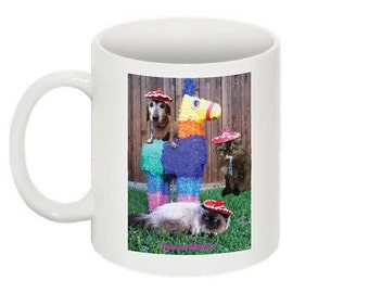 Four Legged Fiesta coffee mug
