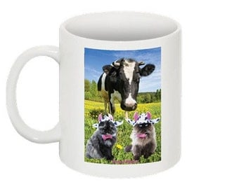 Mad Cow coffee mug