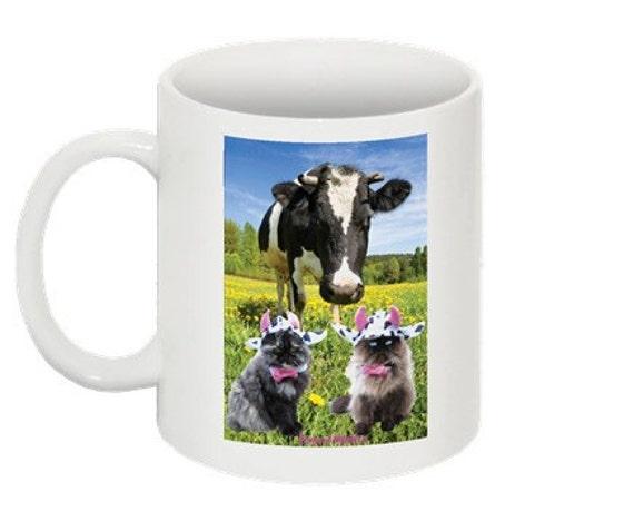 Mad Cow coffee mug