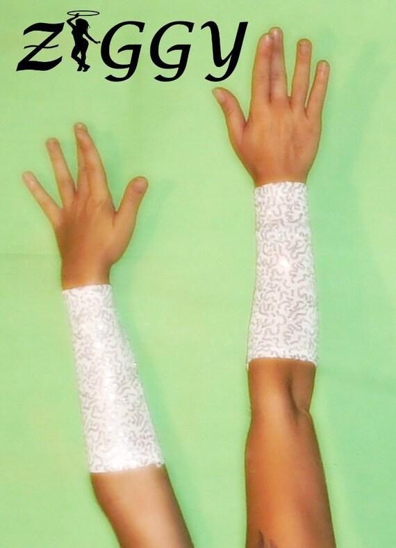 Custom Sequined Arm Cuffs