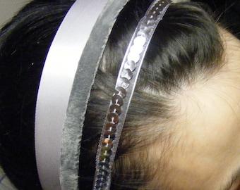 HEAD BANDERS - Papillon GRIS
