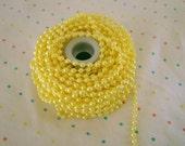 Yellow Pearl Trim - 3 Yards