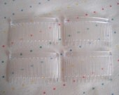 Clear Plastic Combs (24)