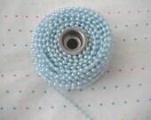 Baby Blue Pearl Trim - 6 Yards
