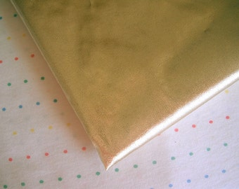 "Metallic Gold Lame Fabric, Tissue Foil Lame, 44"" Wide, BTY"