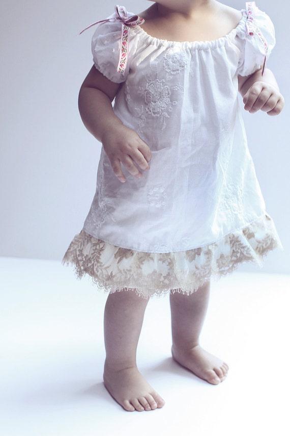 Pure White Baby Dress