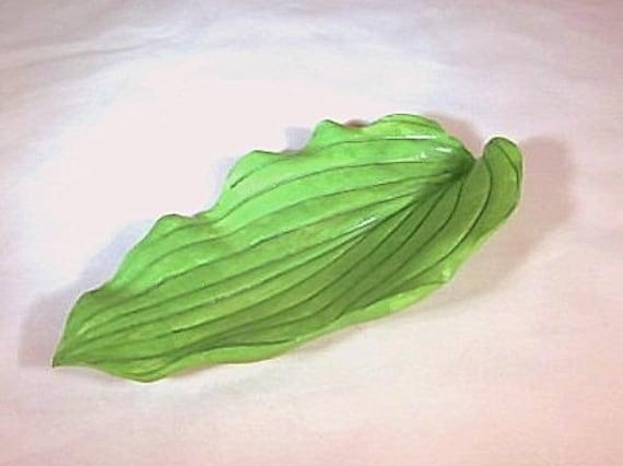 Melon Green Ceramic Hosta