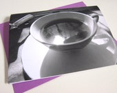 """Cup of Screen Tea 5 x 7"""" Folded Note Card (12.7 x 17.8 cm)"""