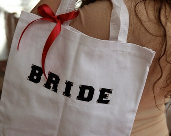 Tote Bag for the Bride for the Wedding Day
