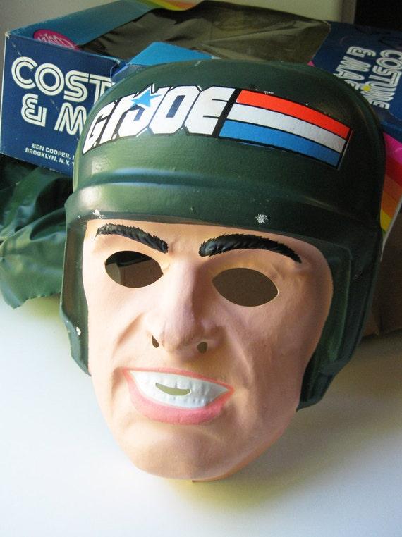 ON SALE GI Joe Halloween Mask 1982