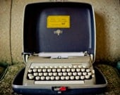 smith-corona Sterling manual typewriter