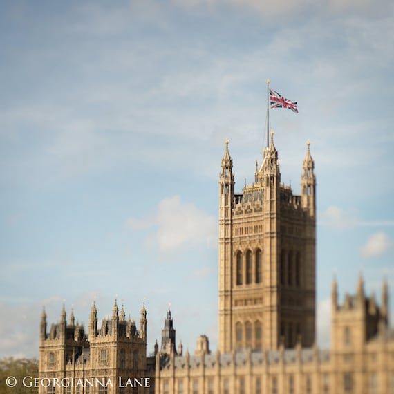 London Photograph - Houses of Parliament, England Travel Photo, Home Decor, Beautiful Travel Wall Art