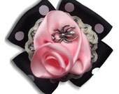 Miss Muffet  brooch