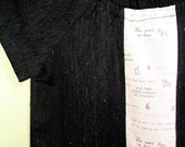 Toddler Tunic with French Phrases 3T and 4T