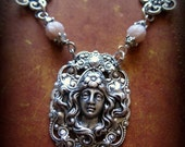 Silver Victorian Necklace -The Lady