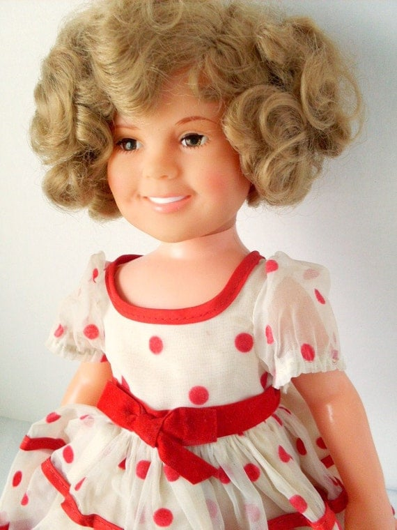 Items Similar To Vintage 1972 16 Inch Vinyl Shirley Temple
