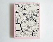 Floral paper box
