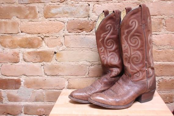 Brown Cowboy Boots, 9-10