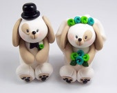 Wedding Cake Topper, Dog Cake Topper, Chinese Zodiac Sign