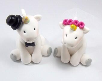 Unicorn Cake Topper, Wedding Cake Topper, Fantasy Cake Topper