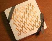 Monogram Coasters, W