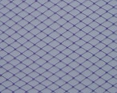 Purple Millinery Hat Veiling