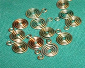Copper Swirls Verdigris Color 12