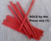 Vintage Bakelite Catalin Square Rods in a Pink-Salmon color