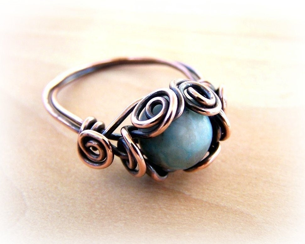 Wire Wrapped Ring Tutorial : Wire wrap lesson spiral nest ring tutorial pdf