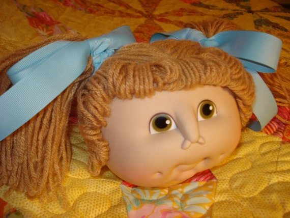 Make your own Cabbage Patch Kids-- Doll Head, Fabric and Pattern