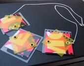 RESERVED for childovgod - Flourescent Necklace