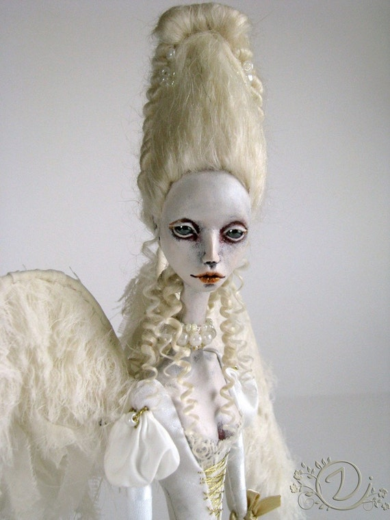 Angel OOAK Art Doll Reserved For Paula
