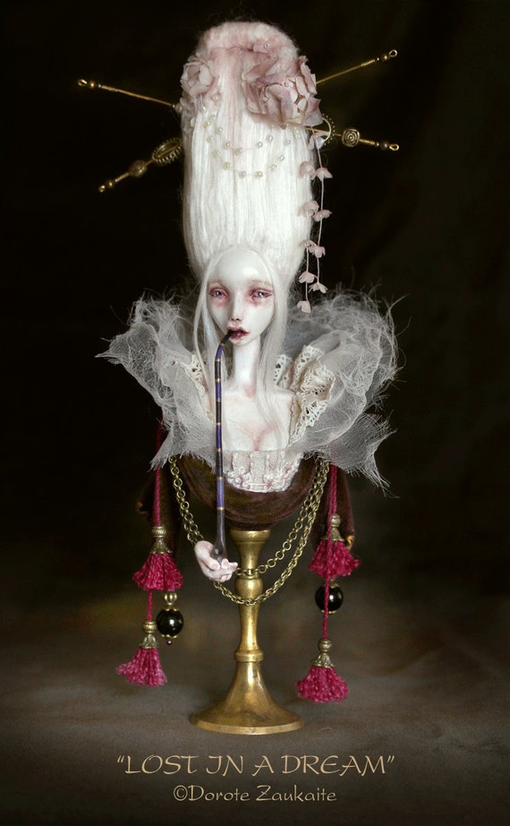 Lost in a Dream art doll bust