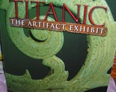 Supplies / Titanic Artifact Exhibit /  Art Project / Collage / Book Of Photos Of The Famous Shipwreck