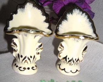 Miniature Porcelain Vases........Hand Painted Porcelain