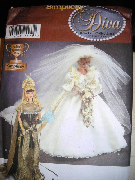Princess Diana 39 S Wedding Gown Doll Pattern Cleopatra