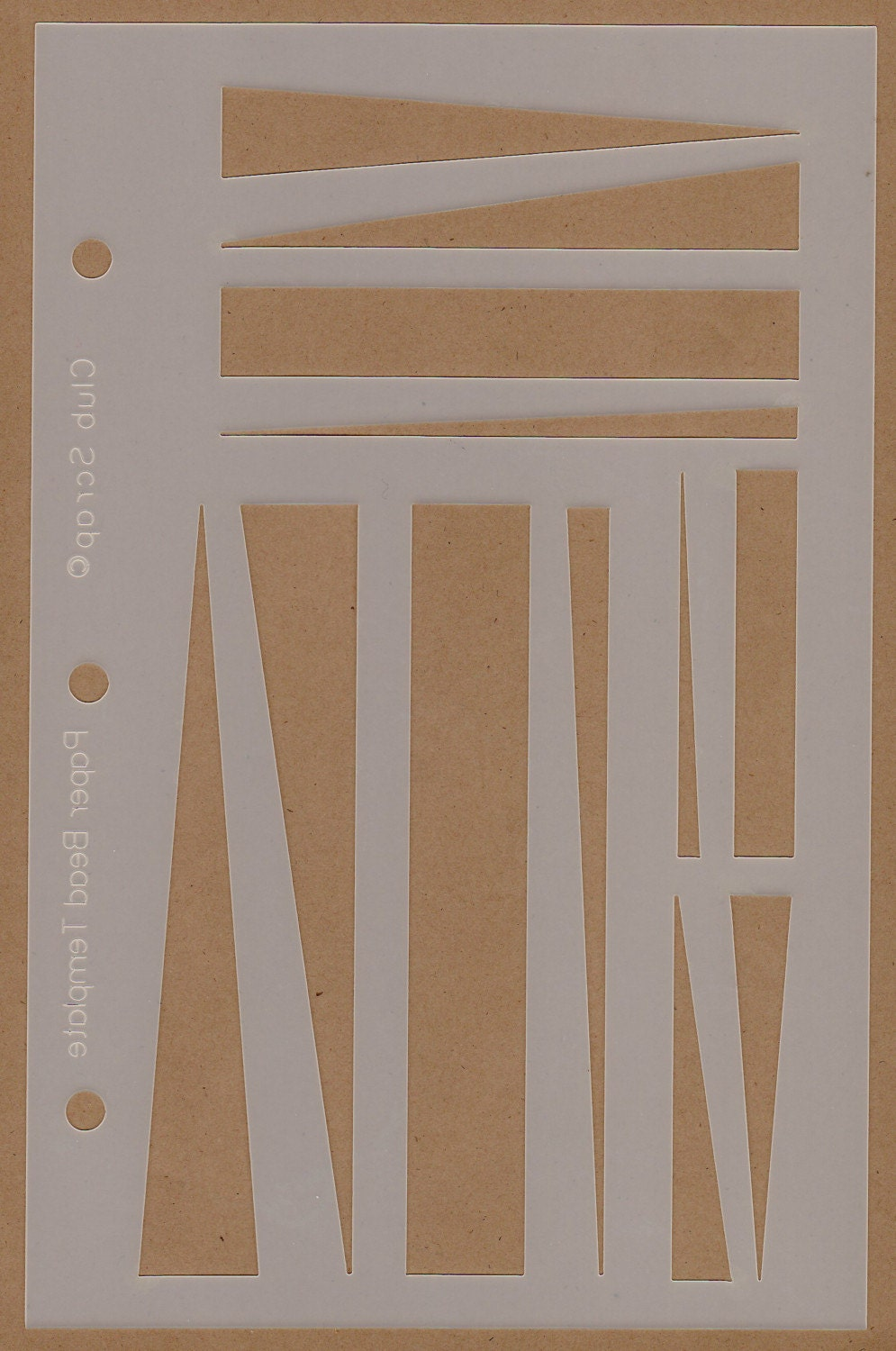Paper Bead Making Template Skewers New Free Us Shipping