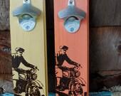 Vintage Motorcycle Bottle Opener