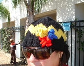 Reserved for Dawn - zigzag hat for an adult